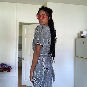 Vintage Zebra Dress